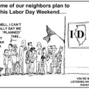 It's Labor Day weekend...