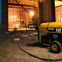 Cat RP6500E generator in construction application