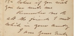 John Wilkes Booth letter to be auctioned