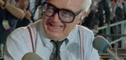 Hear Harry Caray call the final out of the World Series