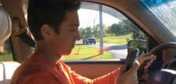 Cell phone use leads to other risky driving
