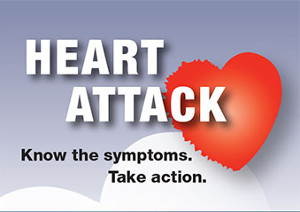 Heart Attack Know the Symptoms. Take Action